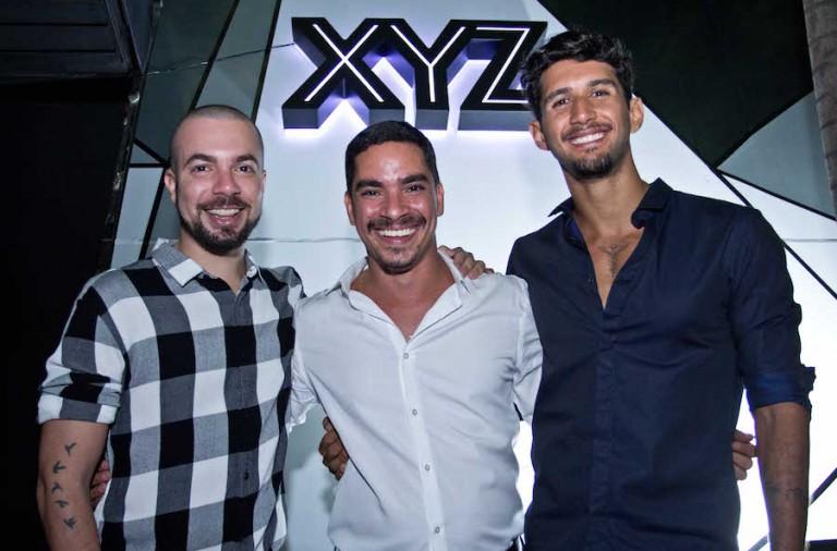 Andre Paranhos, Mauro Braga e Pedro Sarkis