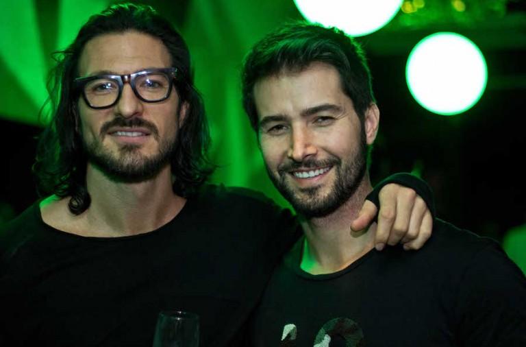 Edward Hunt e Pedro Dias