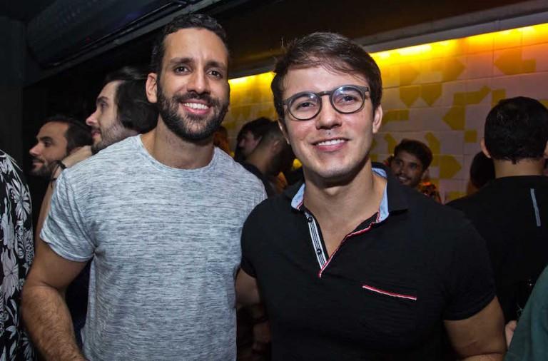Emilio Brito e Luiz Gustavo