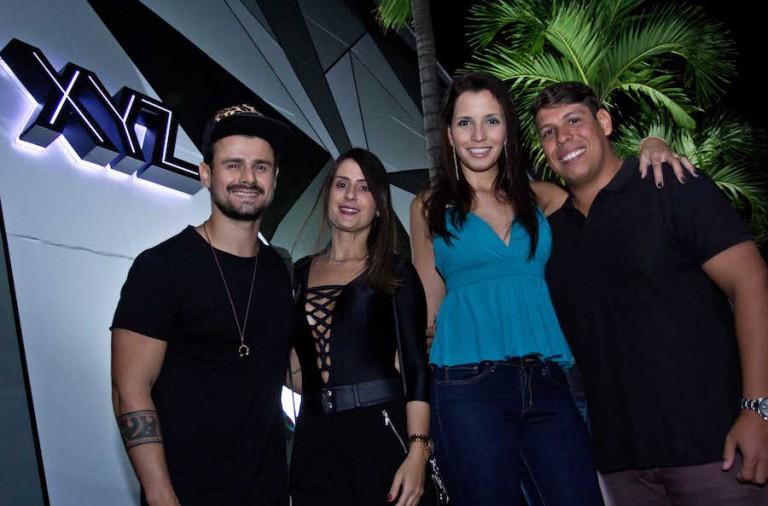 Fiusk, Luana Cordeiro, Daniele Fontoura e Felipe Mascarenhas
