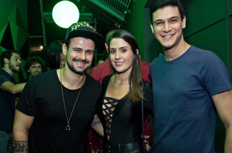 Fusk, Luana Cordeiro e Icaro Almeida