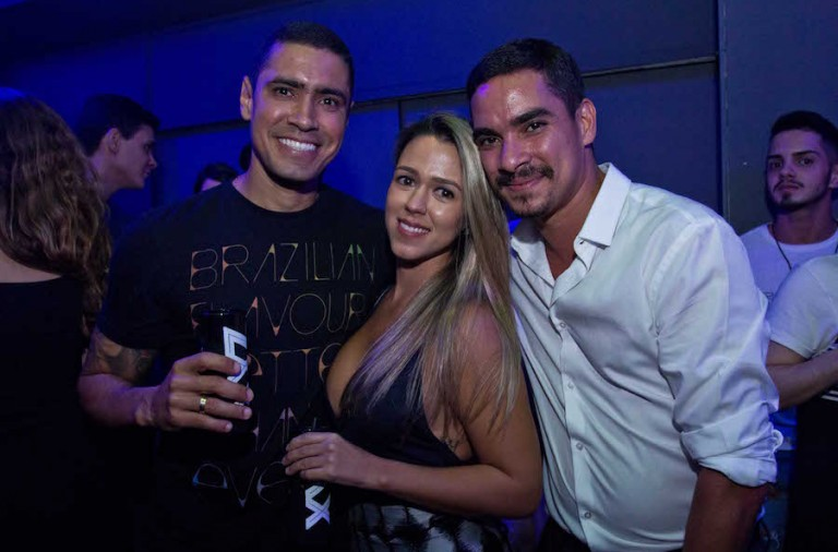 Gustavo Brasil, Lorena Ramalho e Mauro Braga