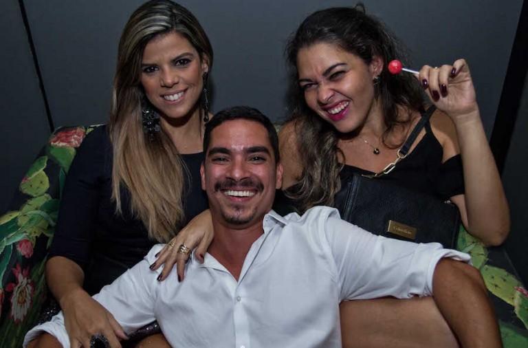 Milena Leony, Mauro Braga e Andrea Melo