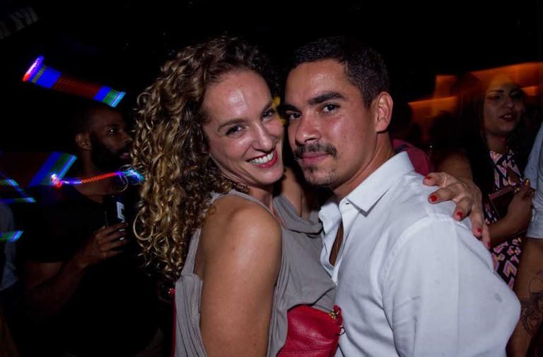 Samantha Flores e Mauro Braga