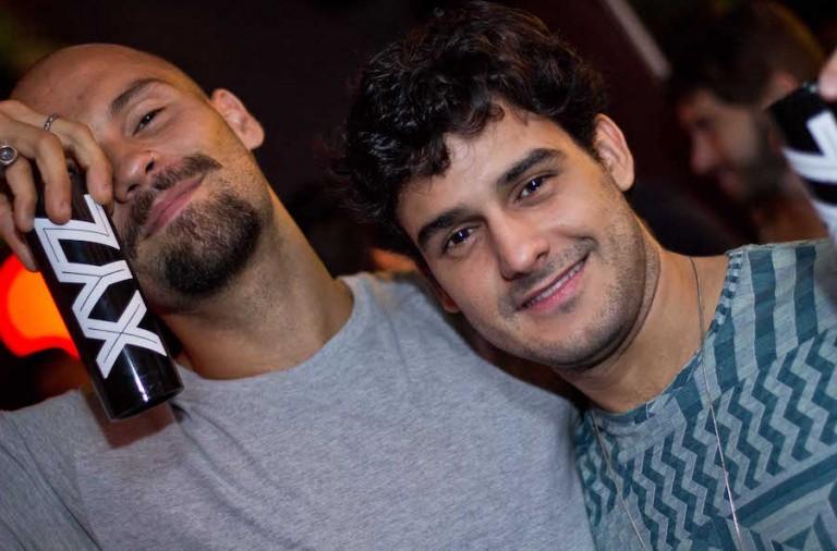 Thie Andrade e Diego Thaens