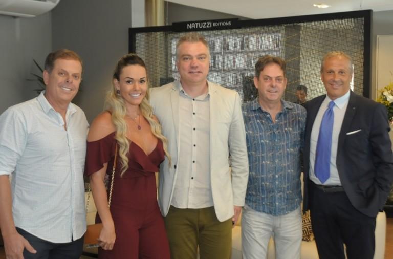Paulo Rocha , Barbara Weyll Almada, Marcos Colet, Gustavo Rocha e Stefano Sette
