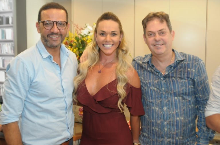 Rogerio Menezes, Barbara Weyl Almada e Gustavo Rocha