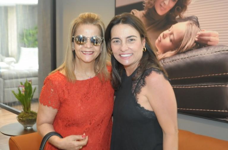 Rosangela Meira e Patricia Lima